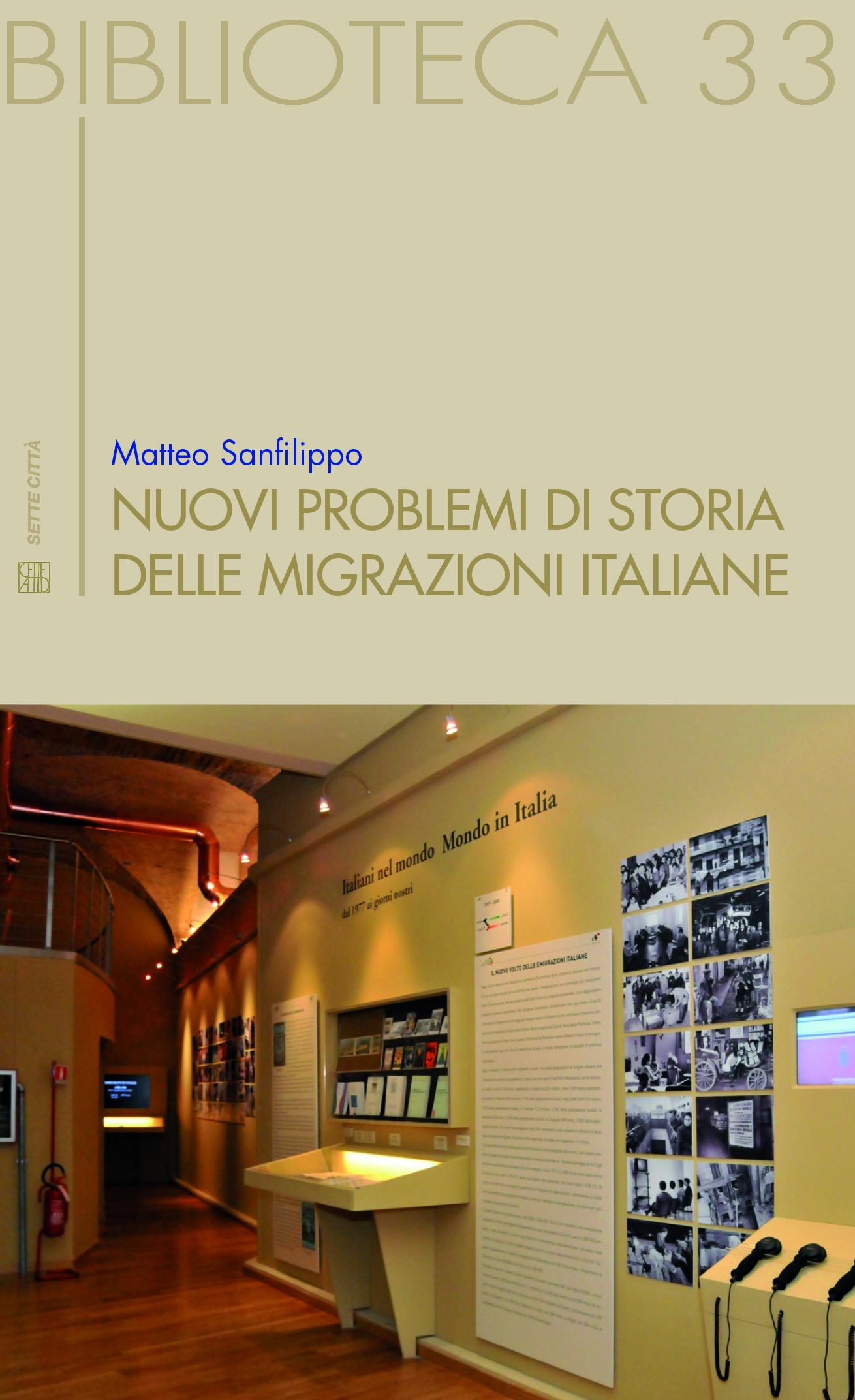 Nuovi problemi di storia delle migrazioni italiane Book Cover