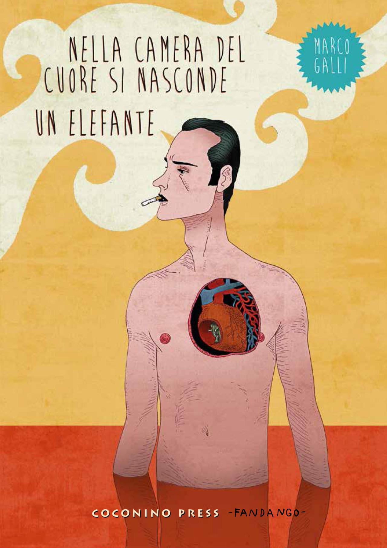Nella camera del cuore si nasconde un elefante Book Cover