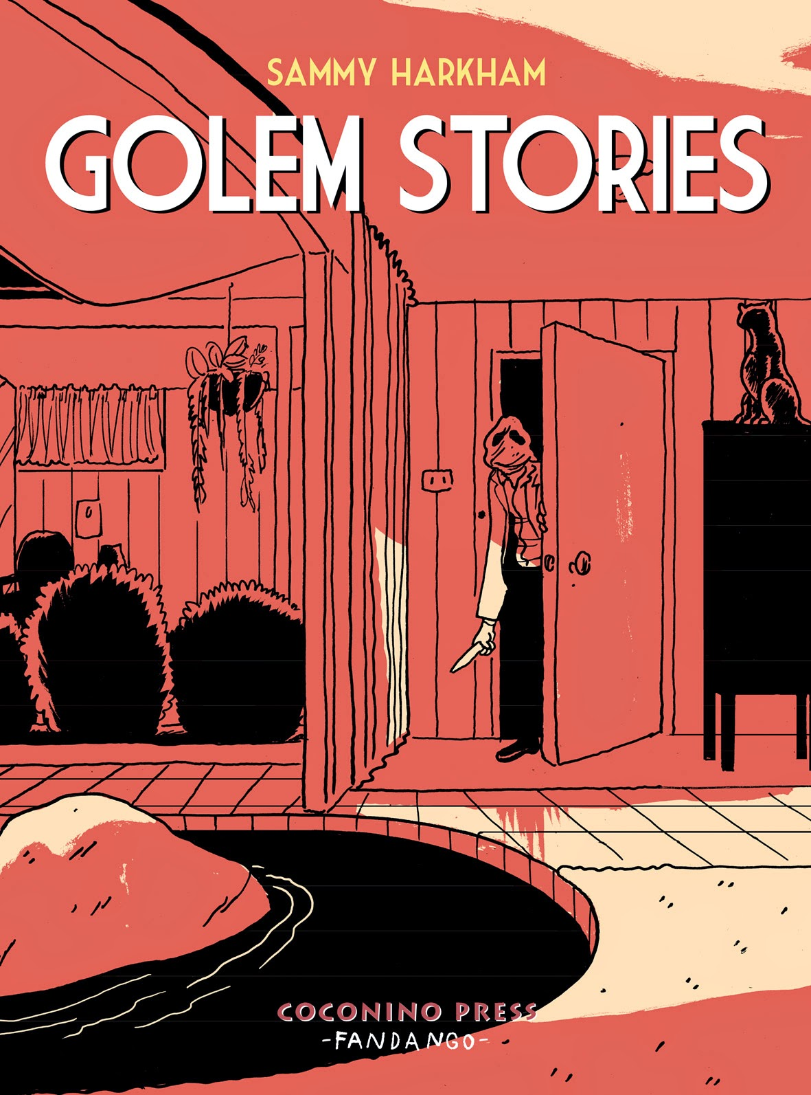 Golem stories Book Cover
