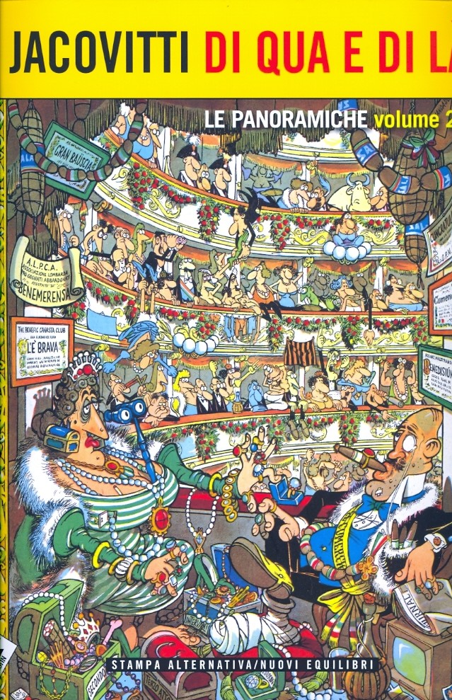 Jacovitti di qua e di là. Le panoramiche vol.2 Book Cover