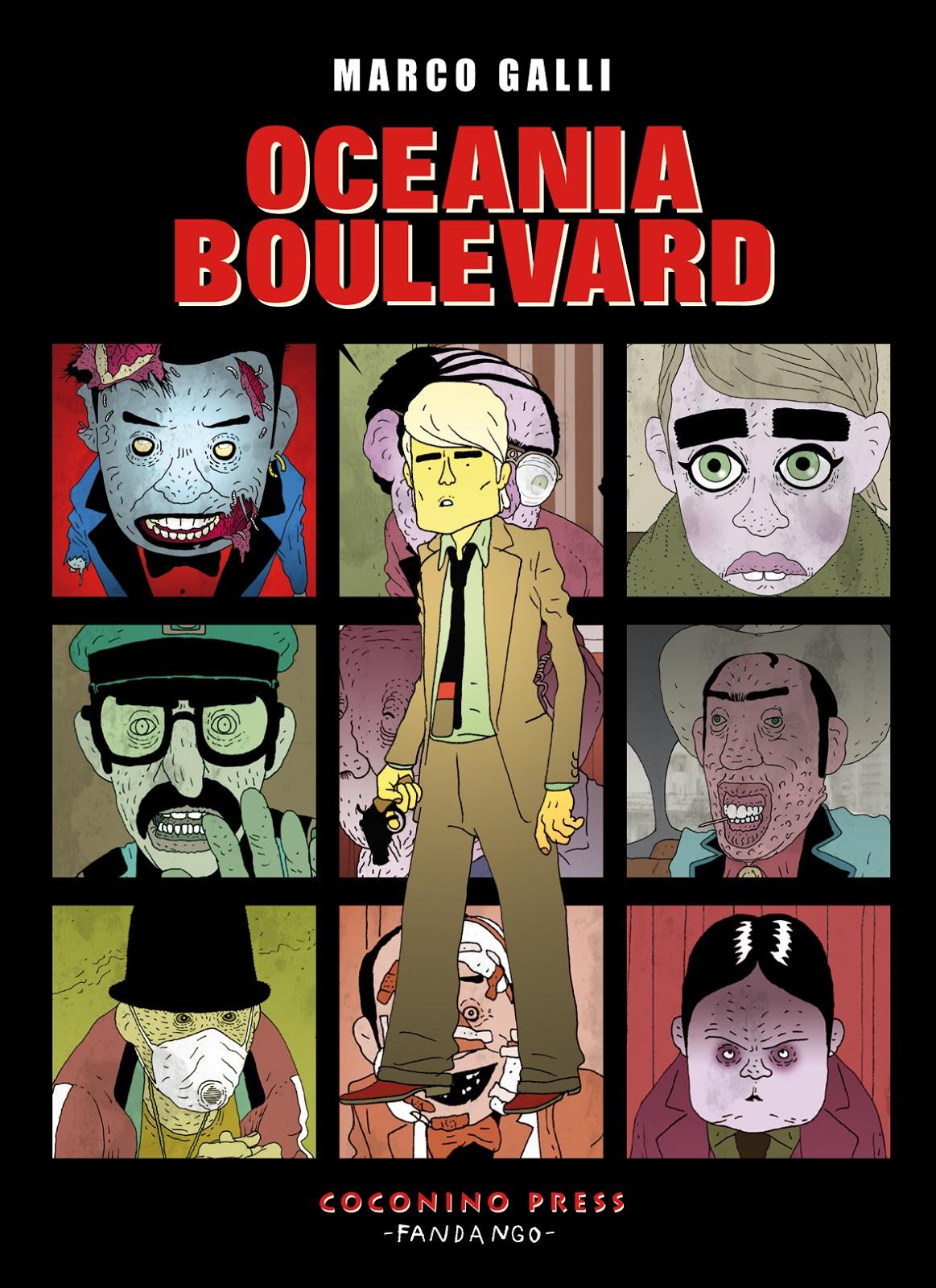 Oceania boulevard Book Cover