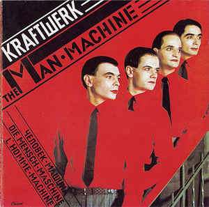 The men machine Book Cover