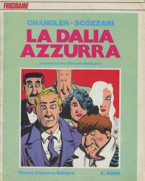 La dalia azzurra Book Cover