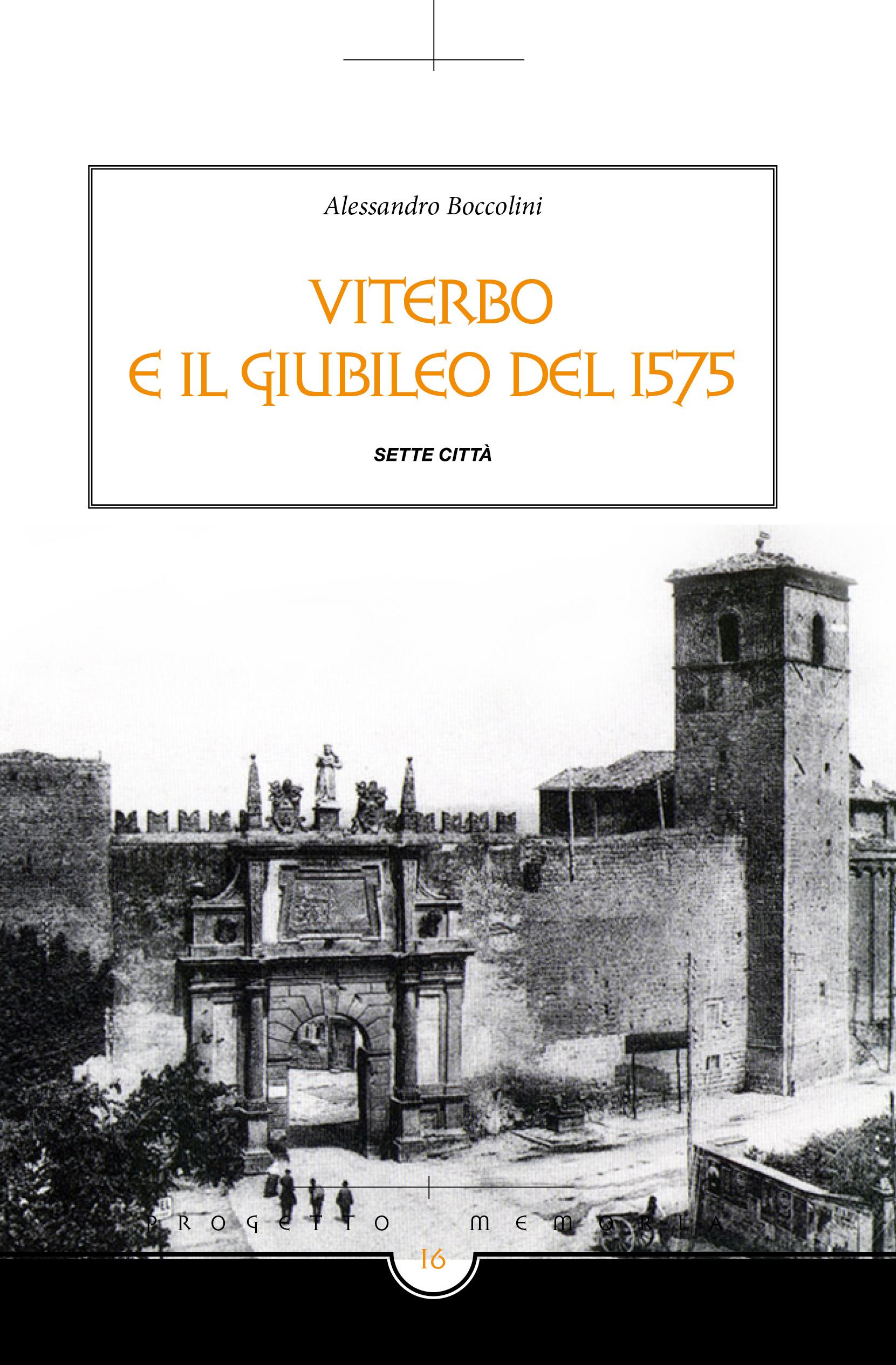 Viterbo e il Giubileo del 1575 Book Cover