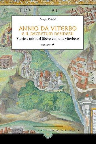Annio da Viterbo e il Decretum Desideri Book Cover