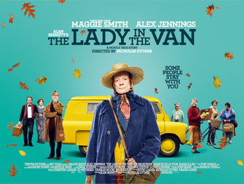 The lady in the van Book Cover