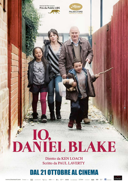 Io, Daniel Blake Book Cover
