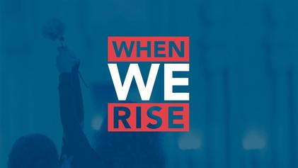When we rise Book Cover