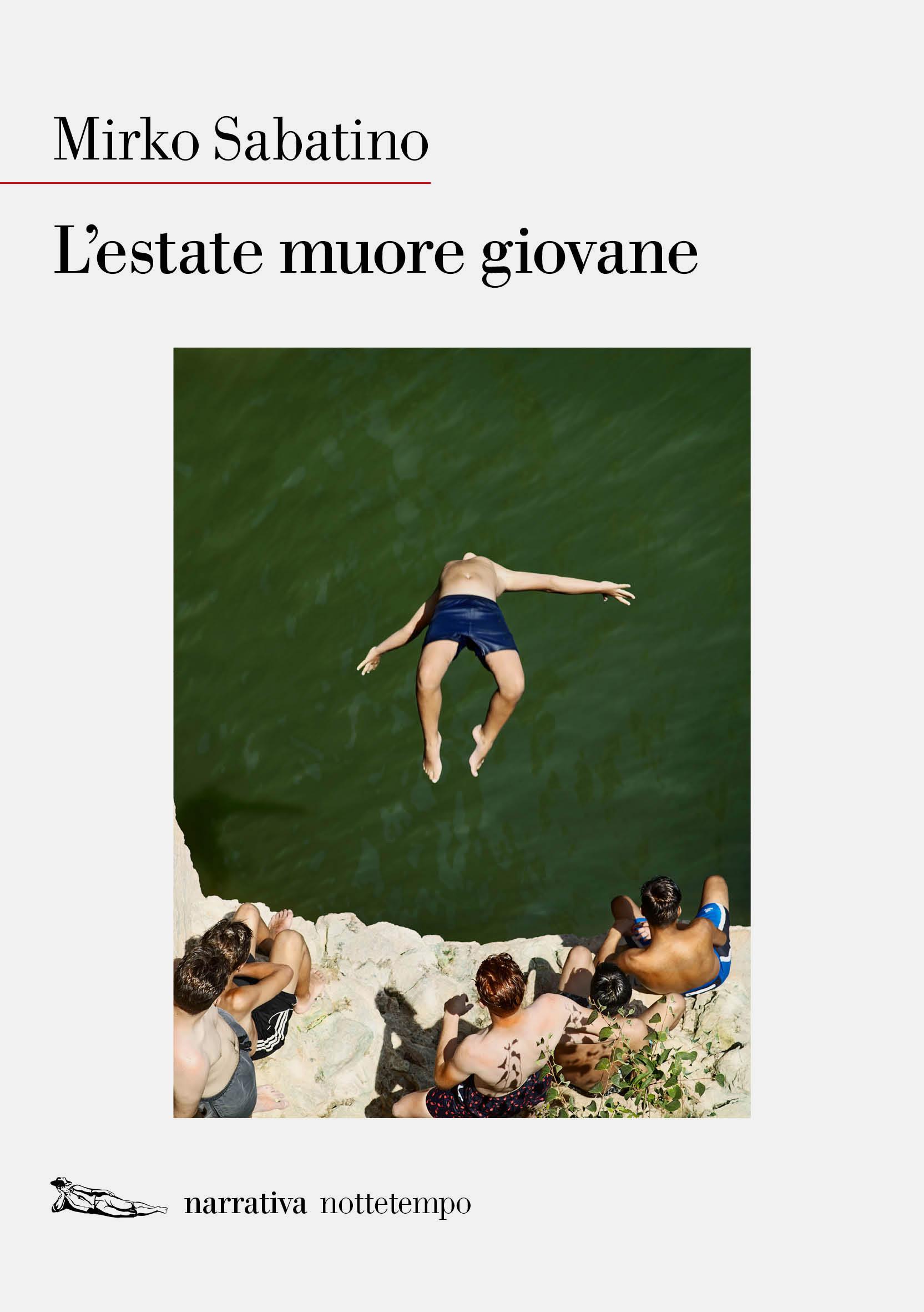 L'estate muore giovane Book Cover