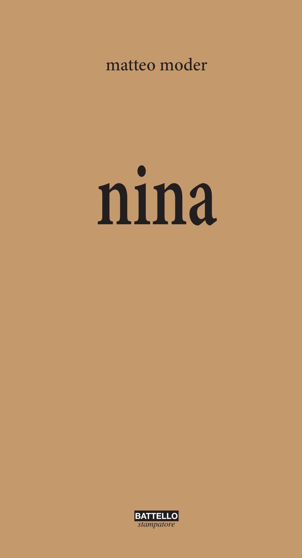 Nina Book Cover