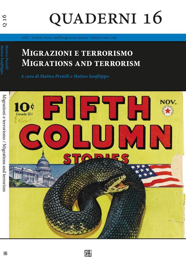 Migrazioni e terrorismo. Migrations and terrorism Book Cover
