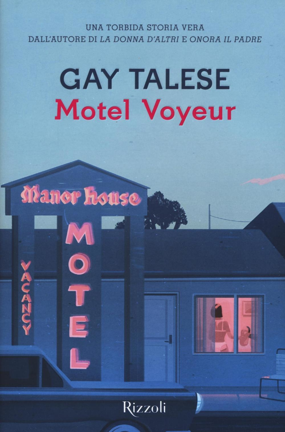Motel voyeur Book Cover