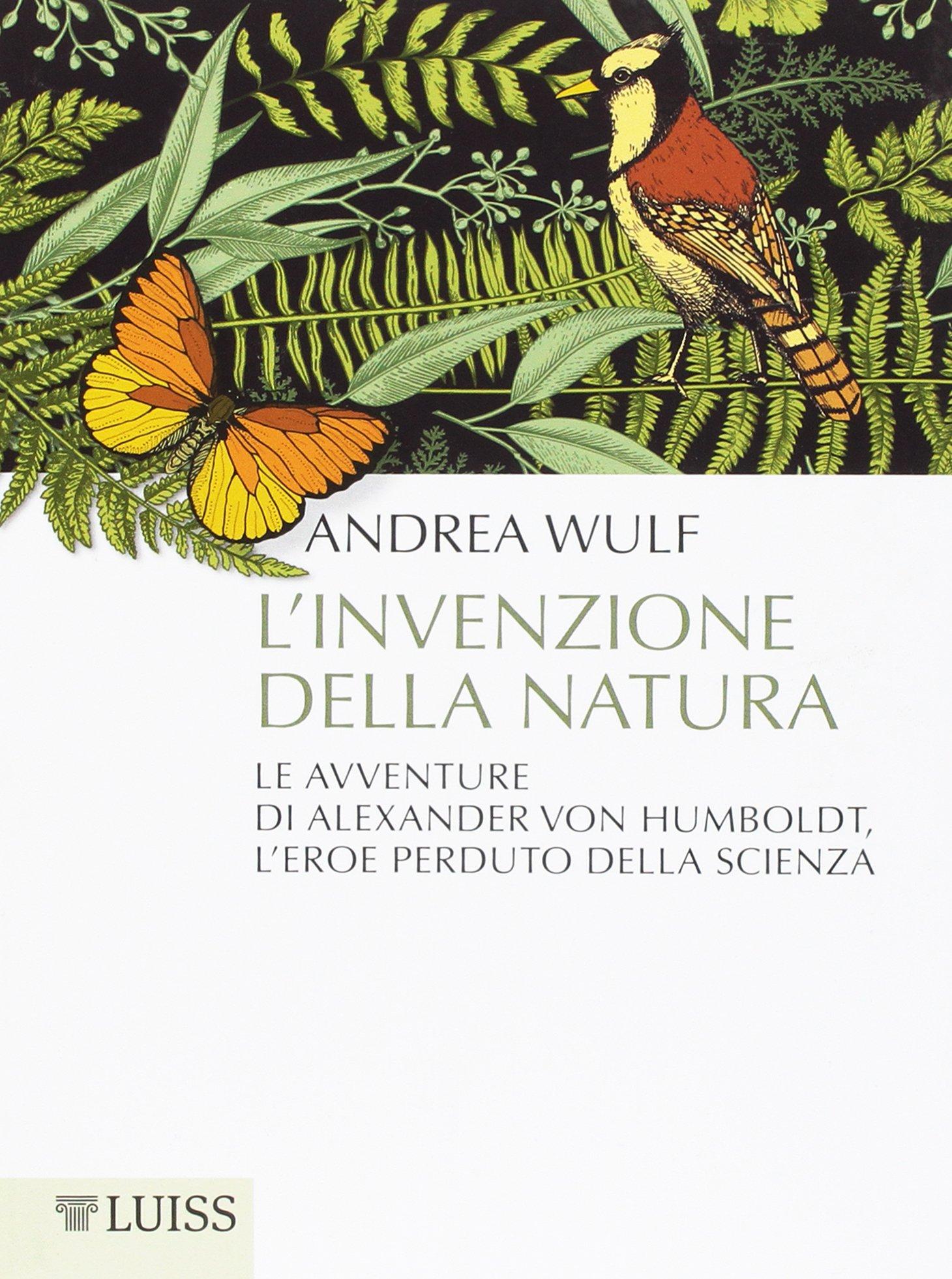 L'invenzione della natura Book Cover