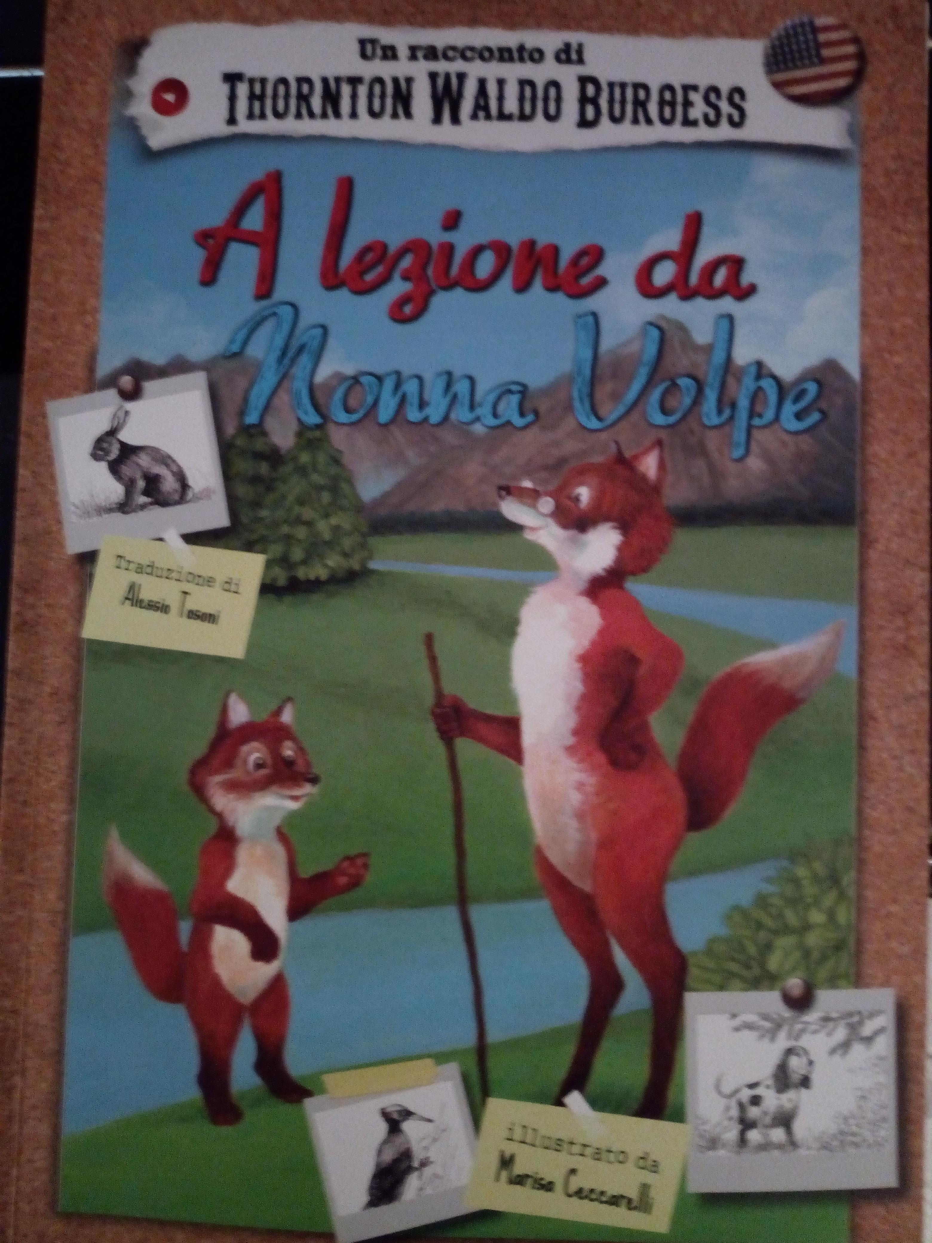 A lezione da Nonna Volpe Book Cover