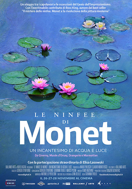 Le ninfee di Monet. Un incantesimo di acqua e luce Book Cover