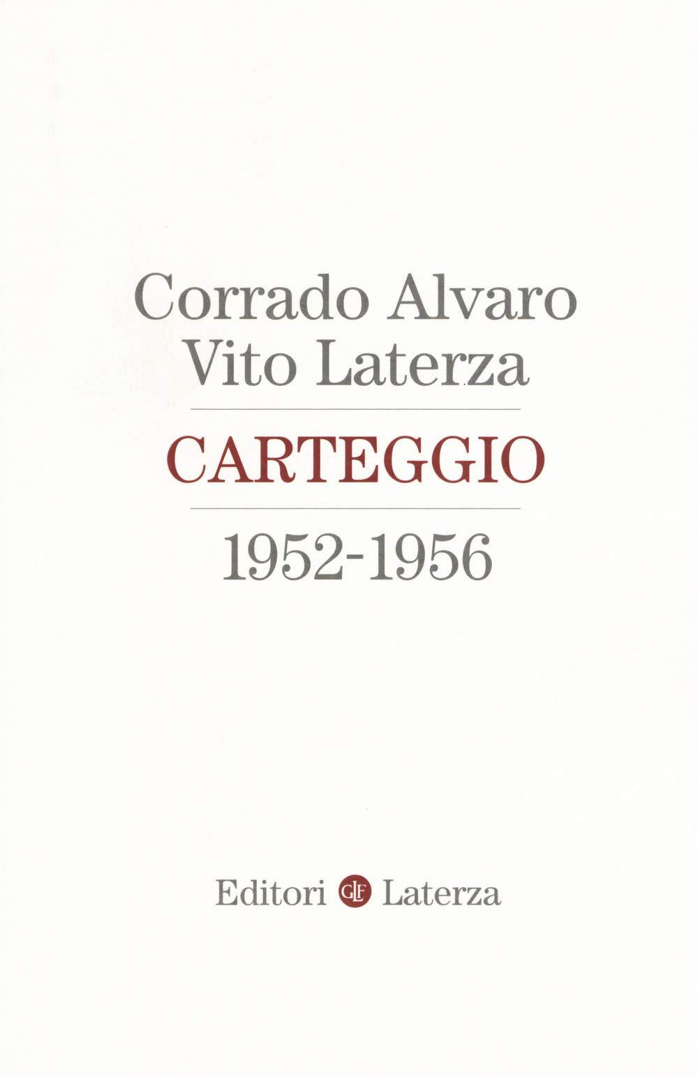 Carteggio 1952-1956 Book Cover