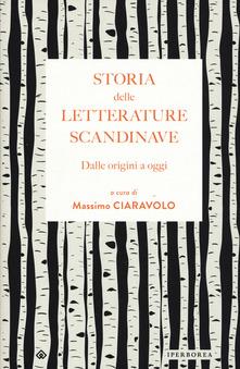 Storia delle letterature scandinave. Dalle origini a oggi Book Cover