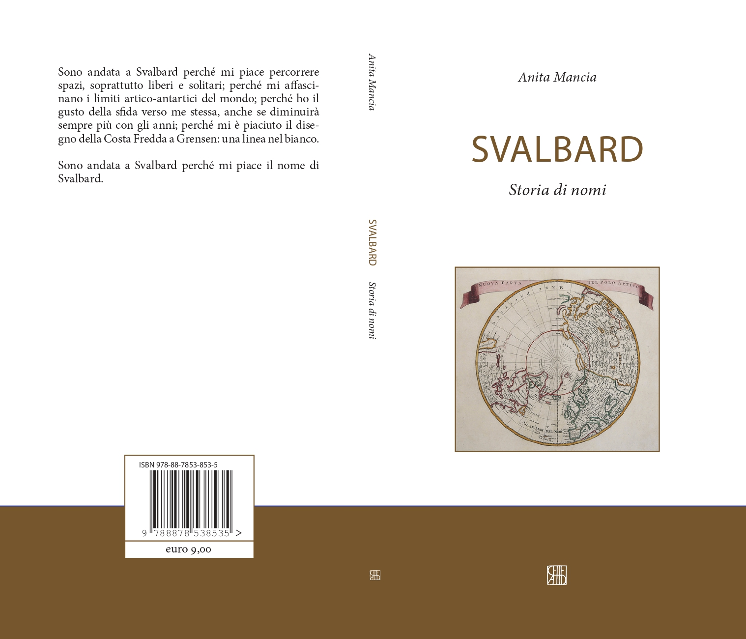 Svalbard. Storia di nomi Book Cover