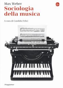 Sociologia della musica Book Cover