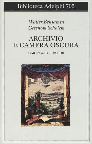 Archivio e camera oscura. Carteggio 1932-1940 Book Cover