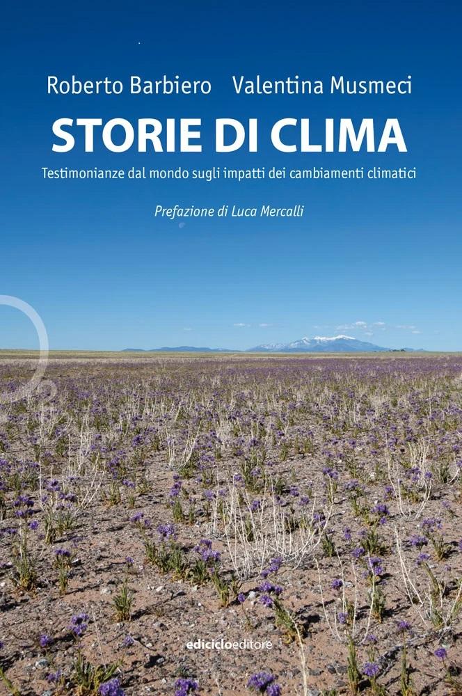 Storie di clima. Testimonianze dal mondo sugli impatti dei cambiamenti climatici Book Cover