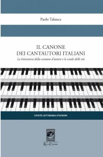 Il canone dei cantautori italiani Book Cover
